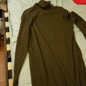 Sweater Dress (Olive)